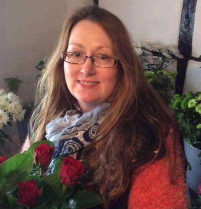 Denise McCormack owner of pink and perfect florists